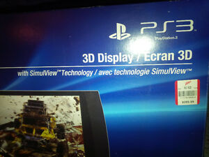SONY PS3 3d Display - $180 obo