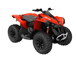 2017 Can Am Renegade Base Model / Brand New