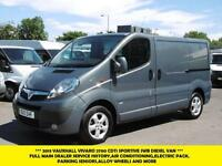2013 VAUXHALL VIVARO 2700 CDTI SPORTIVE IN BLUE/GREY WITH AIR CONDITIONING,ELECT