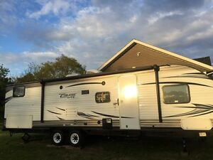 2016 camper with slide, sleeps 10 for rent