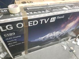 LG 55 INCH B9 OLED SMART NEW BOXED TV CALL 07550365232