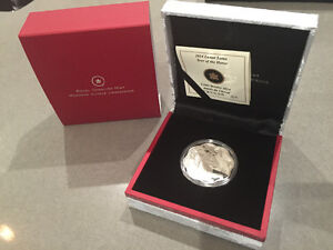 Royal Canadian Mint 2014 Lunar Lotus year of the horse.