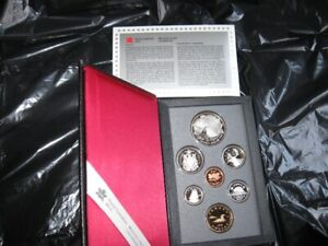 COIN SETS - ROYAL CANADIAN MINT