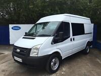 2007 Ford Transit 2.4 TDCi 100 T280m RWD MWB Diesel Van