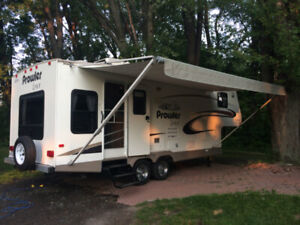 roulotte , fifth wheel, prowler lynx 2005 26.5 pieds
