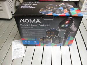 NOMA Starlight laser projector, 3 color, Brand New w/warranty!