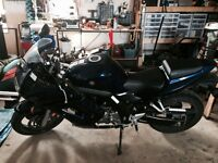 2008 Suzuki sv650s with abs and low km's!