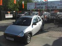 2003 FORD KA 1.3L ONLY 85,817 MILES, IDEAL 1ST CAR, LOW INSURANCE GROUP