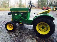 John Deere classic 110 , 112 tractor
