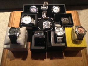 Lot of Watches: Invictus, Vestal, Tauchmeister, Diesel