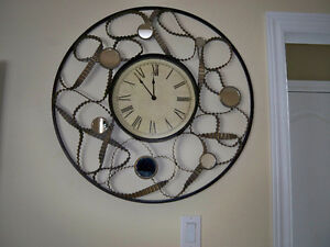 unique looking wall clock