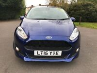 Ford Fiesta 1.0T ECOBOOST S/S ZETEC S 125PS (blue) 2015