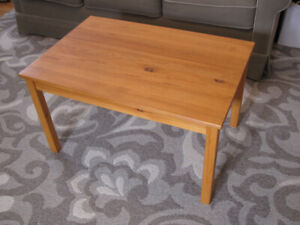 Sturdy Solid Pine Coffee Table