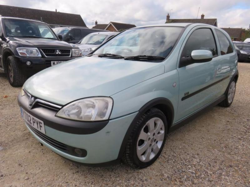 2002 02 VAUXHALL CORSA 1.2 SXI 16V 3D AUTO 75 BHP ONLY 49642 MILES FROM NEW