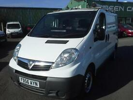 VAUXHALL VIVARO 1.9 CDTi PANEL VAN EX BT FLEET VEHICLE