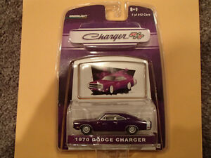 Greenlight 1970 DODGE CHARGER R/T PLUM CRAZY PURPLE MOPAR