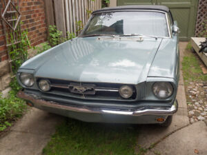 1965 Mustang GT Convertible - project car REDUCED!
