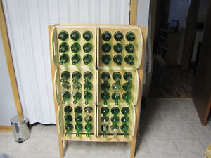 Rack & Crates for wine bottle storage.