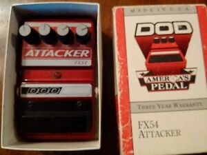 dod fx54 attacker - distortion and compression pedal