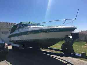 24 Ft. Searay Weekender with tandem trailer.
