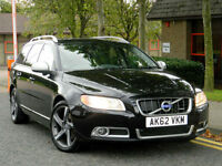 2012 62 Volvo V70 2.4 D5 R-Design Auto (start/stop) ++BLIS+SATNAV+KEYLESS ENTRY