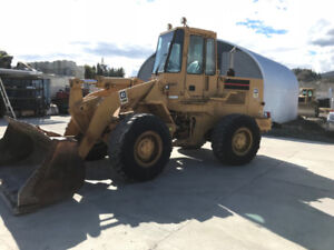 1985 Caterpillar 936 Loader Ready to Plow Snow