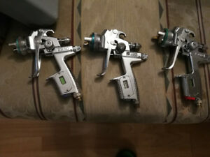Sata Jet 3000& Devilbiss GTI Plus Spray guns
