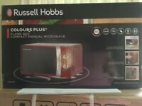 MICROWAVE OVEN, TOASTER, KETTLE, RUSSELL HOBBS