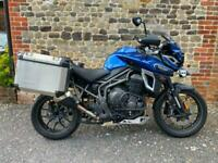 Triumph Tiger Explorer XRT 1215cc 2017 One Owner Blue Low Miles Full History