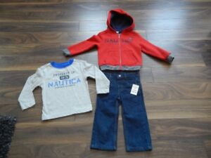 *Never Worn* Nautica 2T 3 Piece Outfit