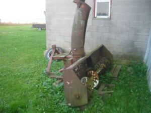 Snow blower for tractor