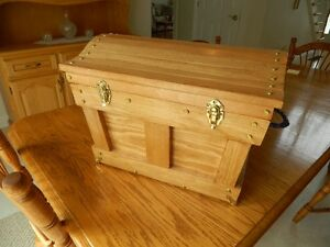 Hand Crafted Solid Pine Chest