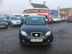 2007 SEAT ALTEA XL STYLANCE TDI 105 BLACK LOW MILEAGE