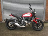 Ducati Scrambler 803cc Icon ABS 2018 18 reg Brand new pre reg