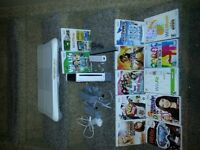 Nintendo Wii and Wii board