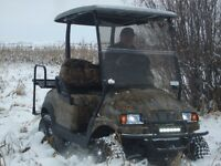 Off road vehicle, golf cart