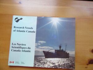 RESEARCH VESSELS OF ATLANTIC CANADA - BOOK - REDUCED!!!