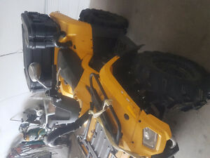 2008 can am 400 outlander 4X4