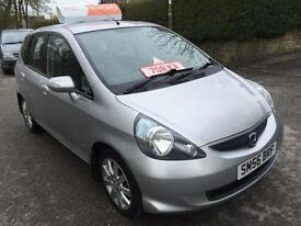 Honda Jazz 1.4i-DSI SE 5 DOOR SILVER 2 OWNERS FULL HONDA HISTORY 50K LOW MILES