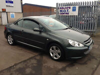 Peugeot 307 CC 2.0 16v Coupe 2003MY CONVERTABLE FULL LEATHER