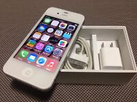 """Iphone 4 16GB Rogers & ChatR """" clean & not black-listed """""""