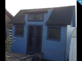 Glamping,tiny house shepherds hut,garden room,home office