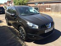 2013 NISSAN QASHQAI+2 1.6 360 5 DOORS 7 SEATER BLACK ONLY 39000 MILES