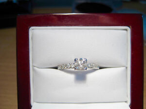 New 0.65 TDW Certified Diamond Engagement Ring with BONUS!!!!