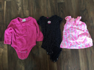 Girls 9 month clothing