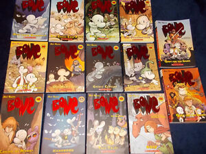 Huge lot of 14 BONE graphic novels by Jeff Smith