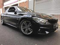 BMW 4 Series 64 REG 2.0 420d M Sport 2 door AUTO, CONVERTIBLE, FBSH, HUGE SPEC
