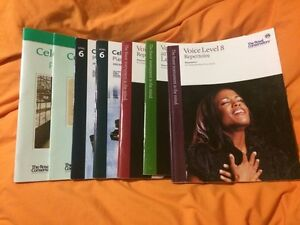 Royal Conservatory of Music Books~(Vocal and Piano)