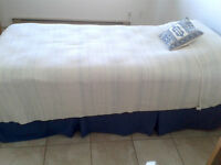 Beauty Rest twin bed + boxspring - $250