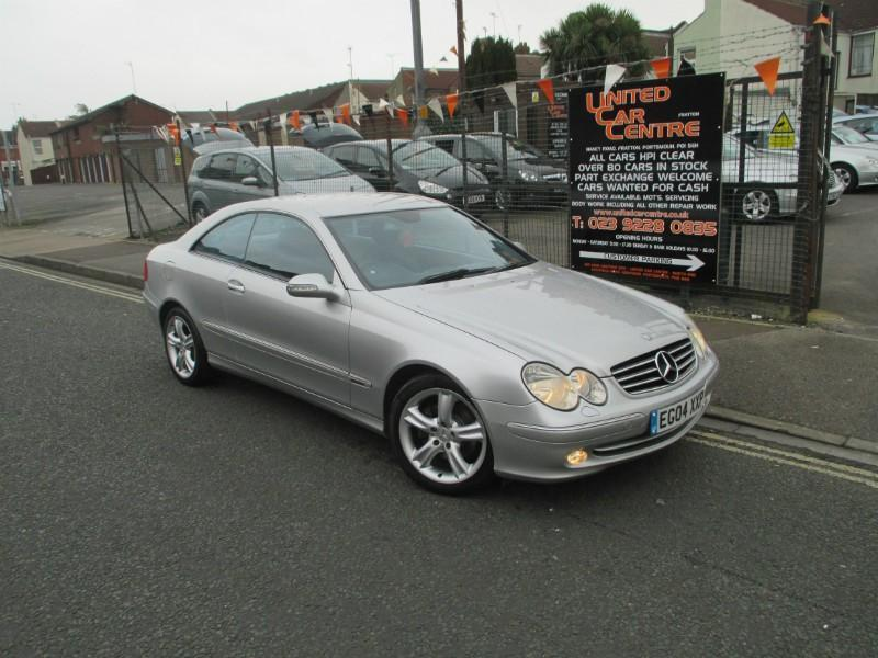 mercedes clk 2 7td clk 270 cdi avantgarde coupe 2d 2685cc auto in portsmouth hampshire gumtree. Black Bedroom Furniture Sets. Home Design Ideas